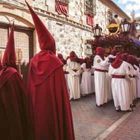 Anderos y nazarenos Semana Santa de Herencia - Ciudad Real