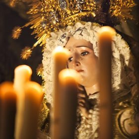 Virgen Semana Santa Herencia