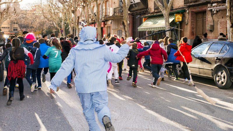 Herencia ya está inmersa en su Carnaval Nacional