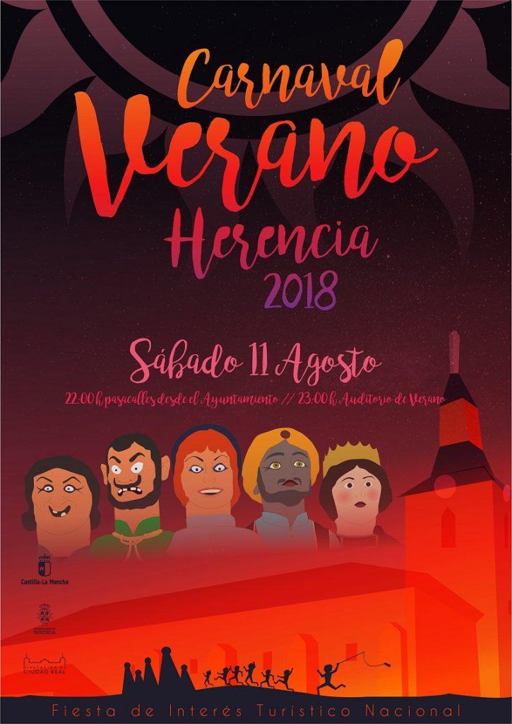 carnaval de verano 2018 Herencia
