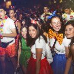 juventud en el carnval de verano de Herencia