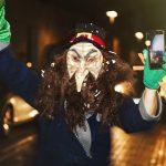 máscara callejera carnaval de verano Herencia