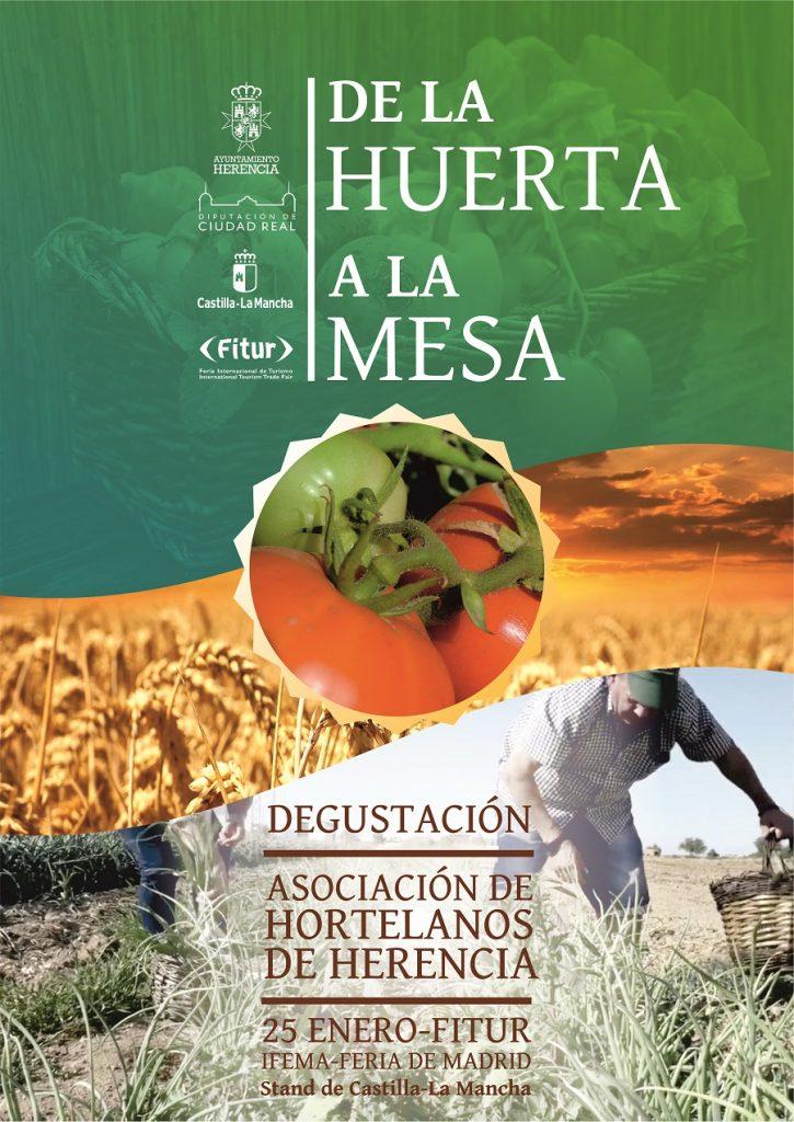 Huerta de Herencia en Fitur 2020