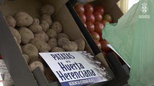 Puesto de hortalizas y verduras de la Huerta de Herencia
